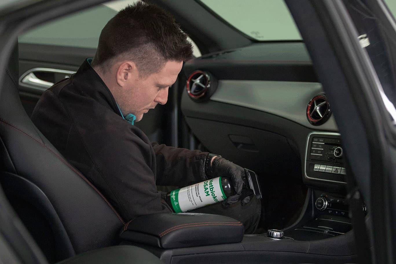 car sanitisation netbiokem coronavirus